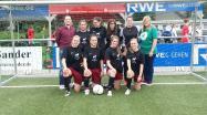 Mädchen-Fußball-Team 2014