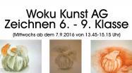 Kunst AG - Flyer-Download am Ender der Textseite