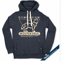Hoodie aus dem Online-Shop mit neuem Logo