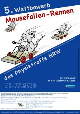 Mausefallenrennen: Plakat 2013