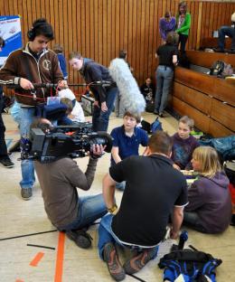 Mausefallenrennen 2012: WDR aktuell