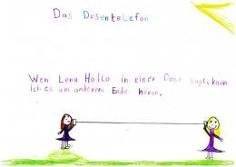 Das Dosentelefon aus Schülersicht (Schall, 2013)