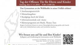 Plakat Infoveranstaltungen 2018